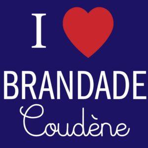 Création contenu facebook : i love brandade coudène