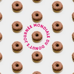 Création contenu facebook : journée du donut