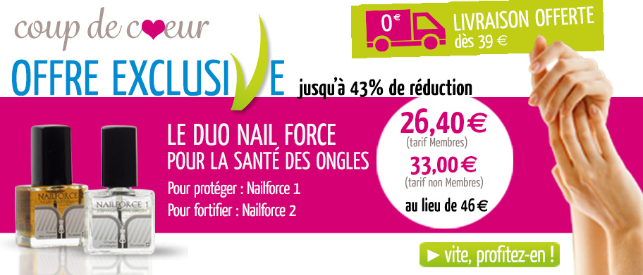Webdesing carrousel site internet : duo nail force
