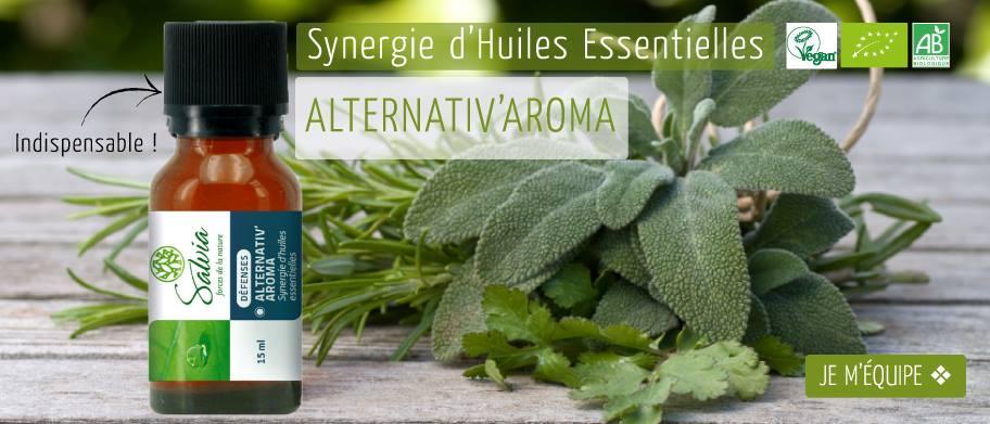 Webdesign carrousel promotionnel Alternativ'aroma