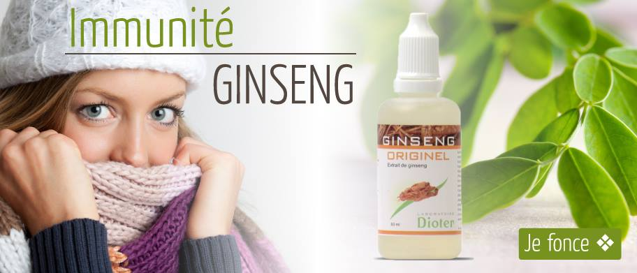 Webdesign carrousel promotionnel Ginseng