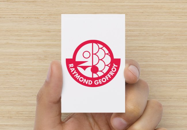 création carte de visite raymond geoffroy