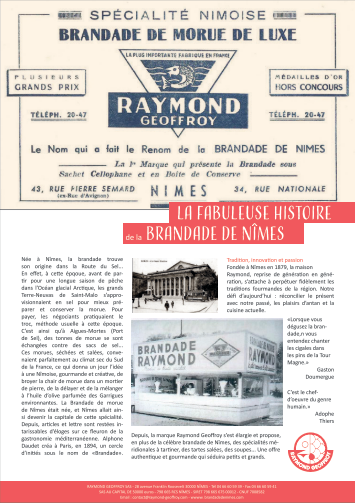 page catalogue raymond geoffroy