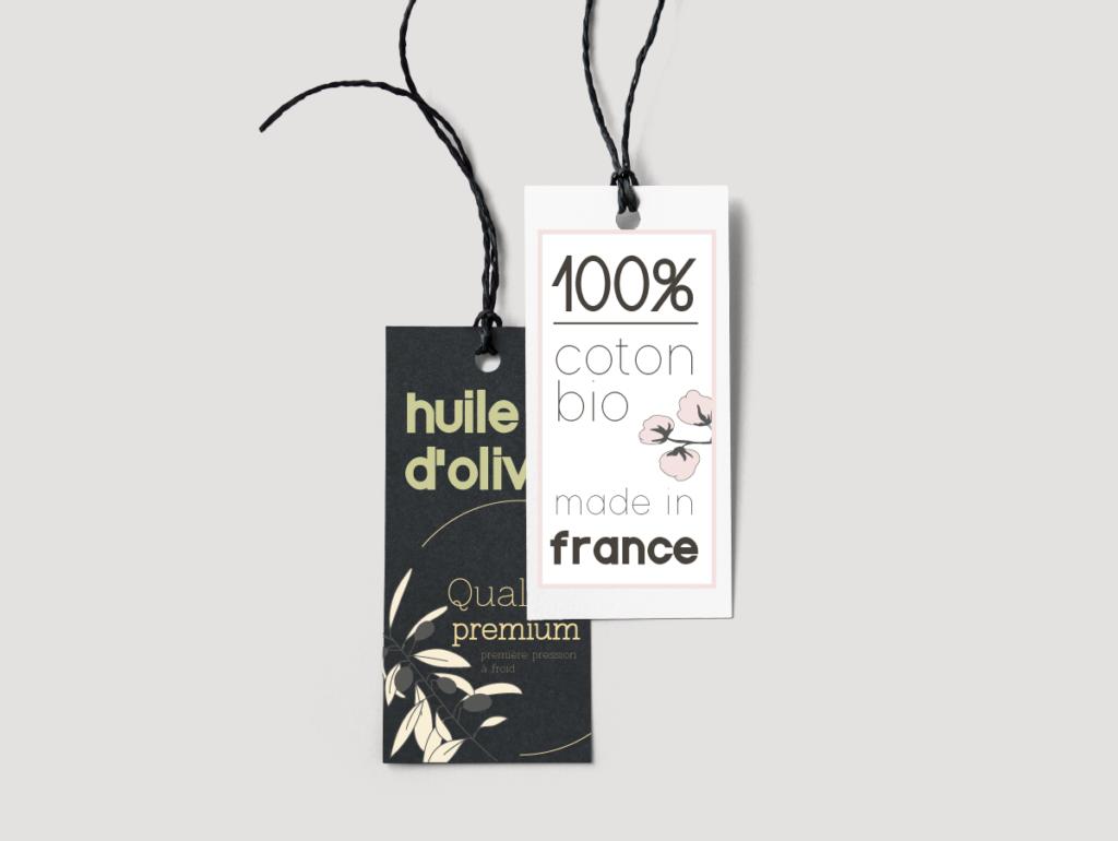 Création d'étiquettes agroalimentaire et textile
