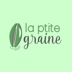 Création logo La Ptite Graine