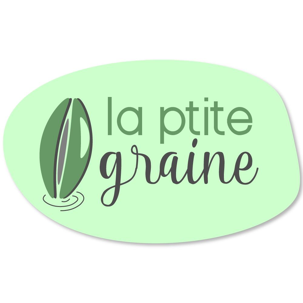Design logo La Ptite Graine