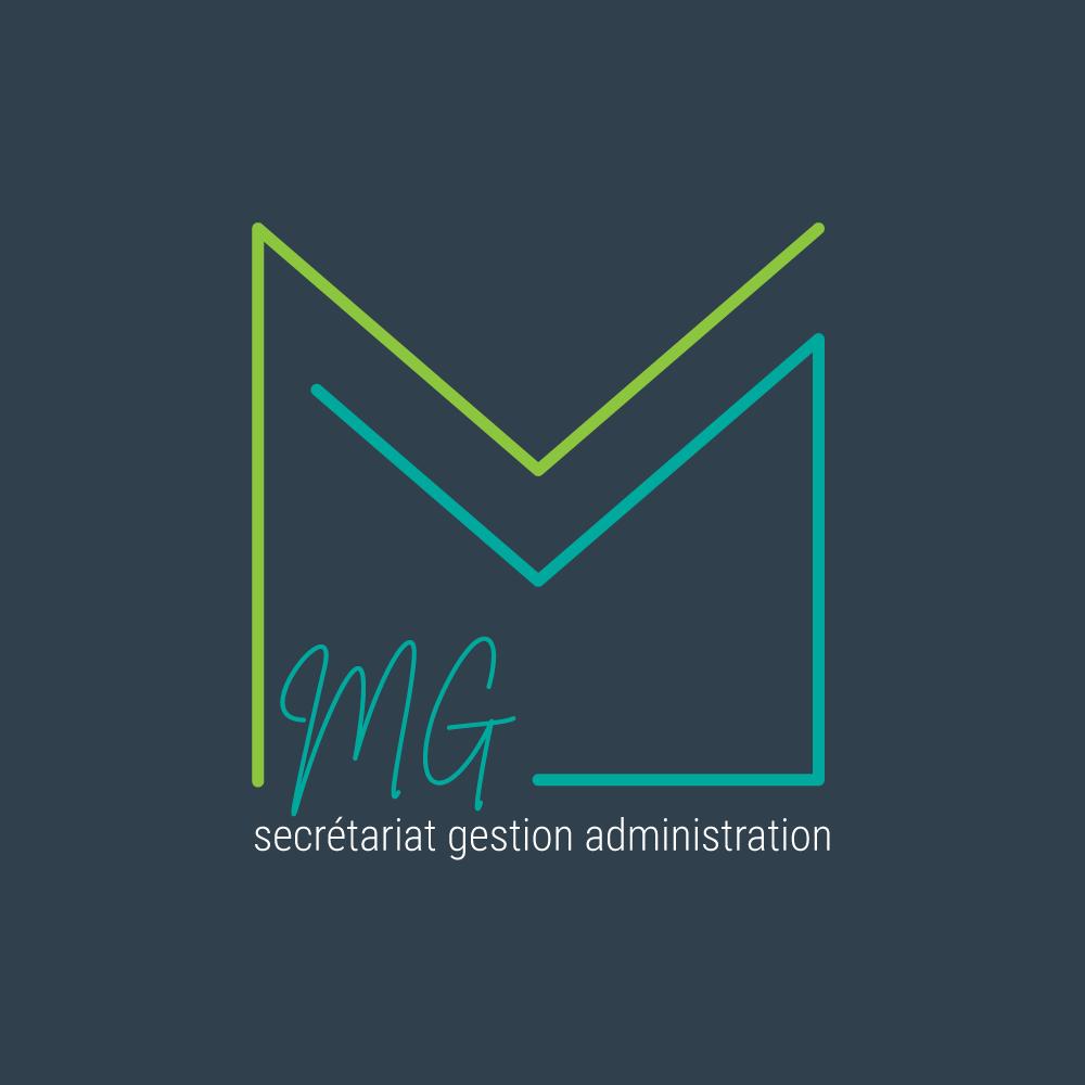 Logo MG secrétariat gestion administration