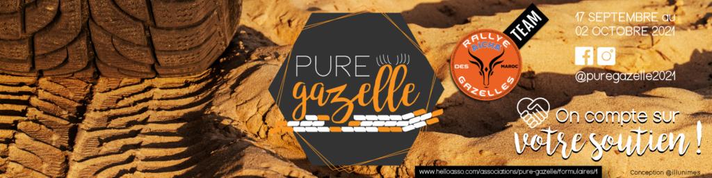Bannière Linkedin Pure Gazelle