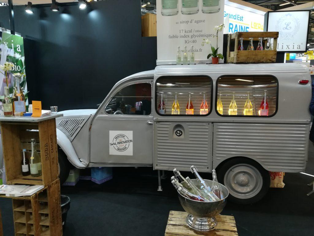 Présentation limonade artisanale salon professionnel