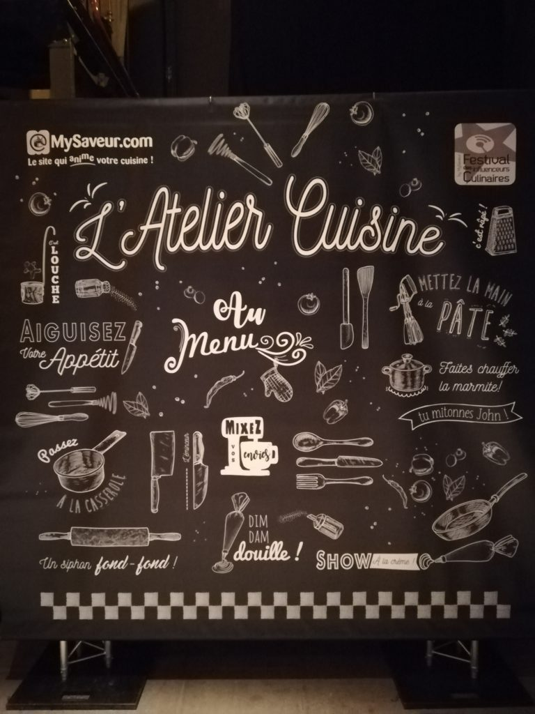 Atelier cuisine festival des influenceurs culinaires