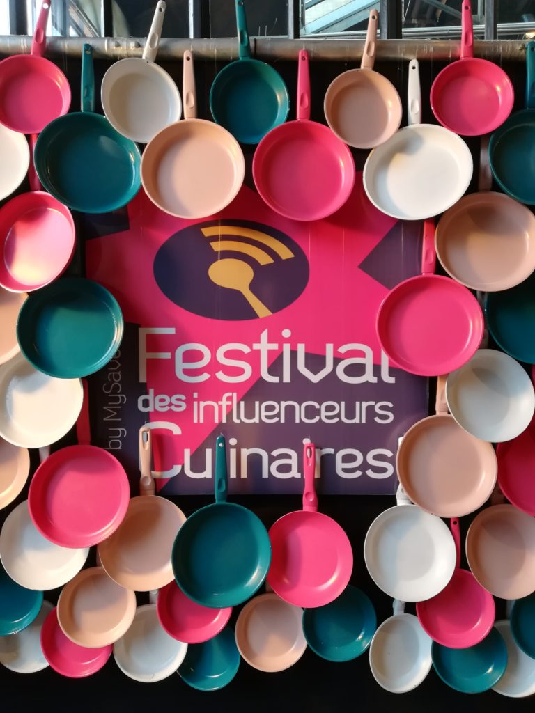 Photobooth Festival des Influenceurs Culinaires