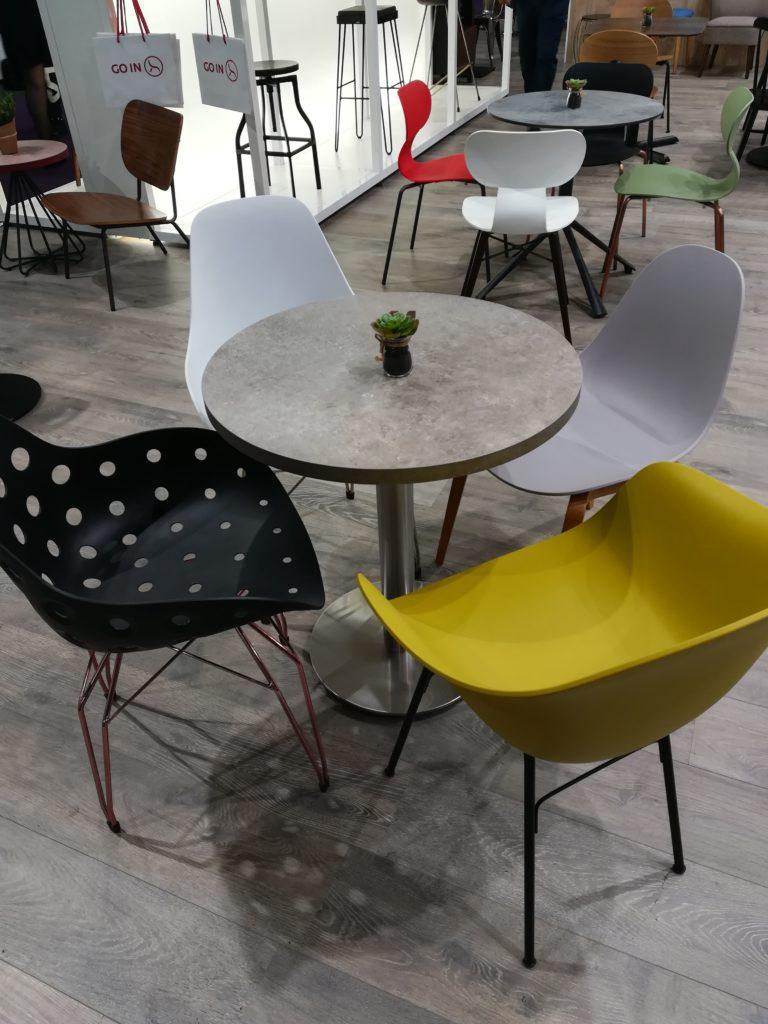 Mise en avant mobilier salon professionnel