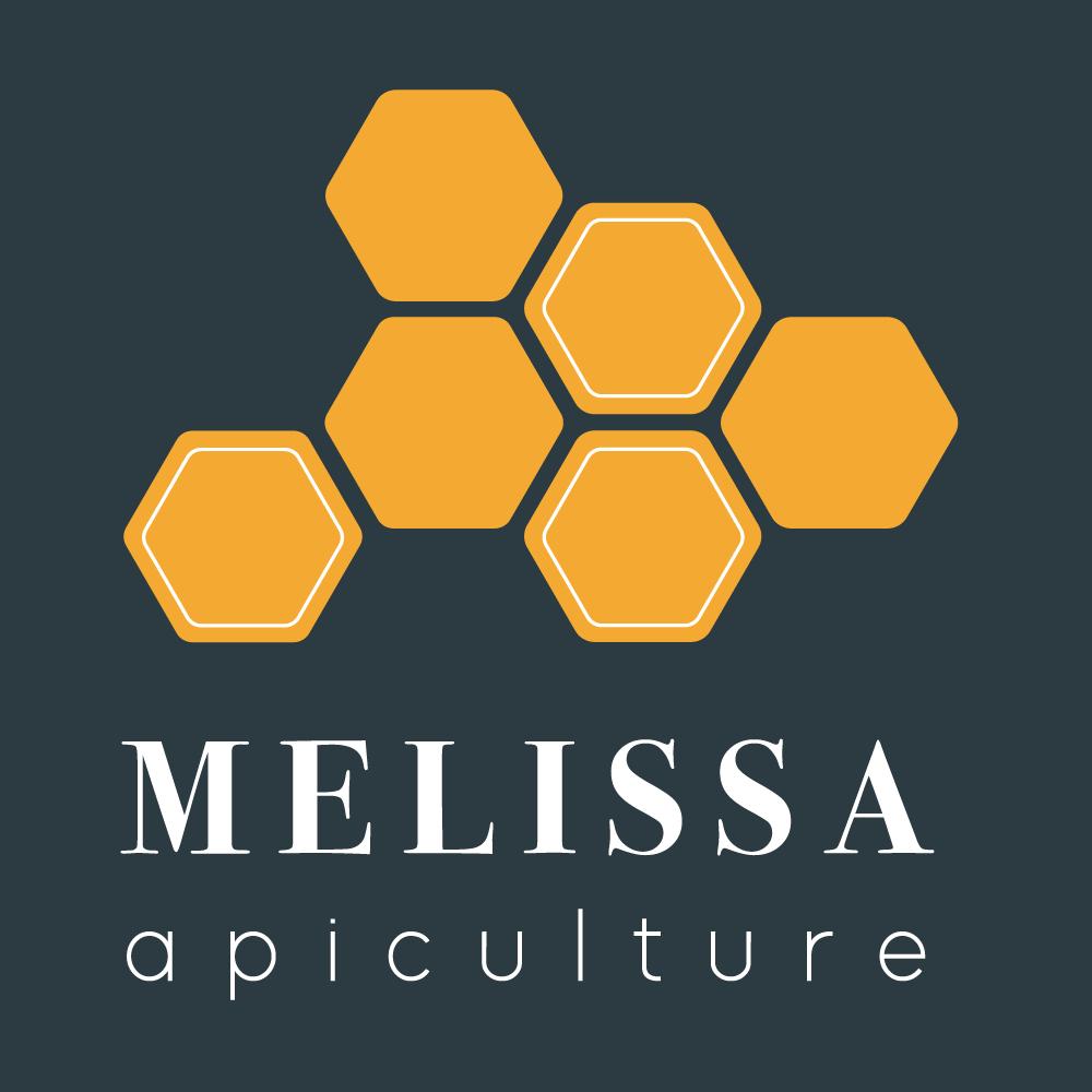 Logo miel melissa apiculture foncé