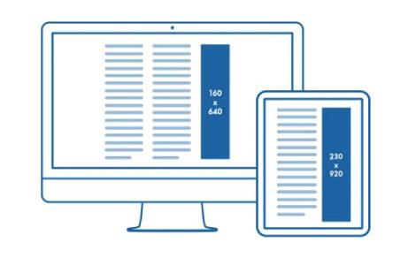 créer des bannières publicitaires format iab ratio 1 4 - Illunimes