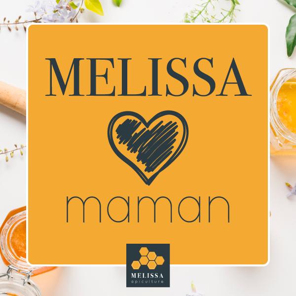 Publication instagram Melissa aime maman