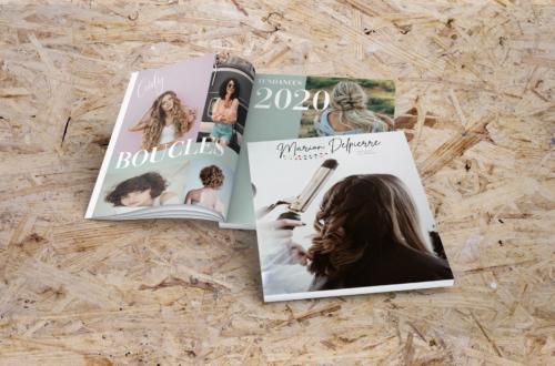 Création de catalogue photo coiffeur