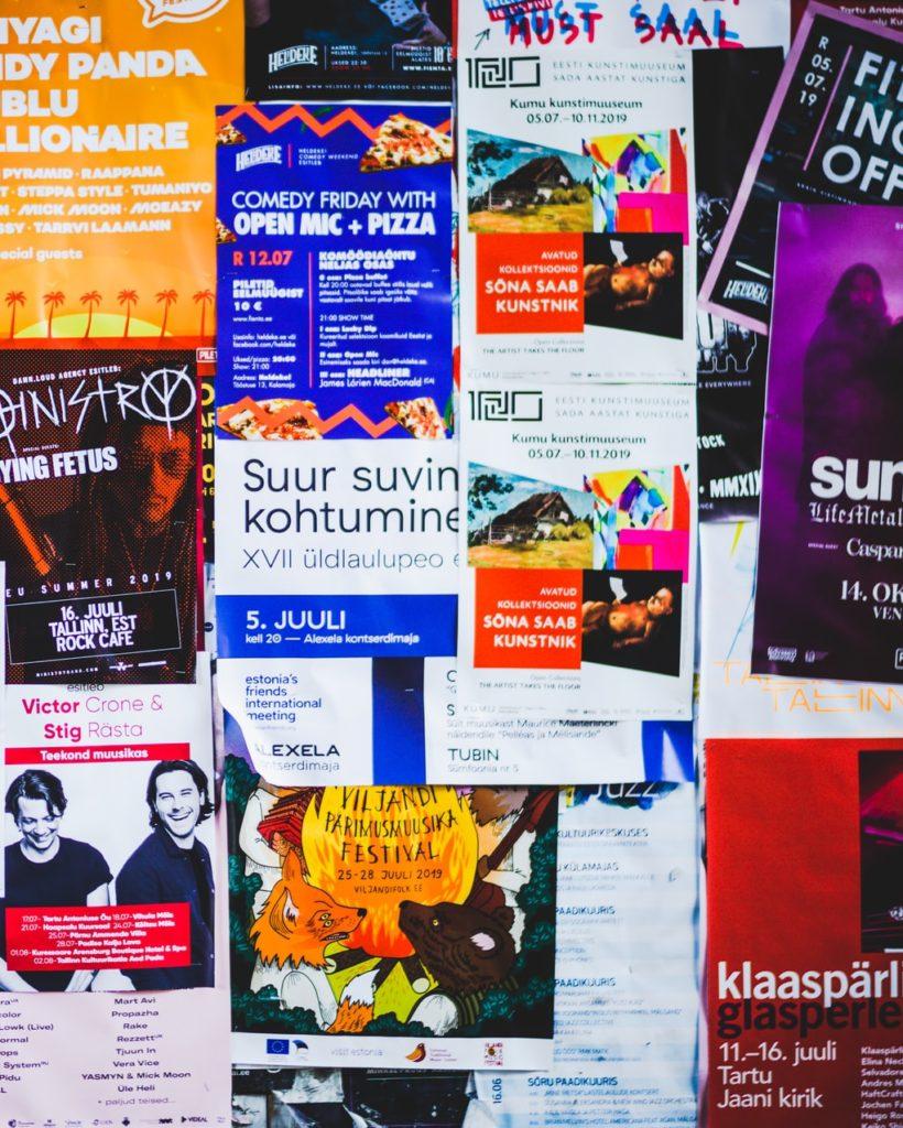 Affichage de rue