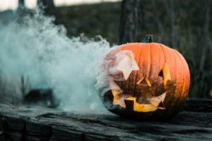 Communiquer pour halloween