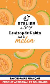 Etiquette Sirop Atelier du Sirop Melon
