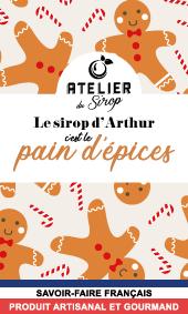 Etiquette Sirop Atelier du Sirop Pain d'Epices