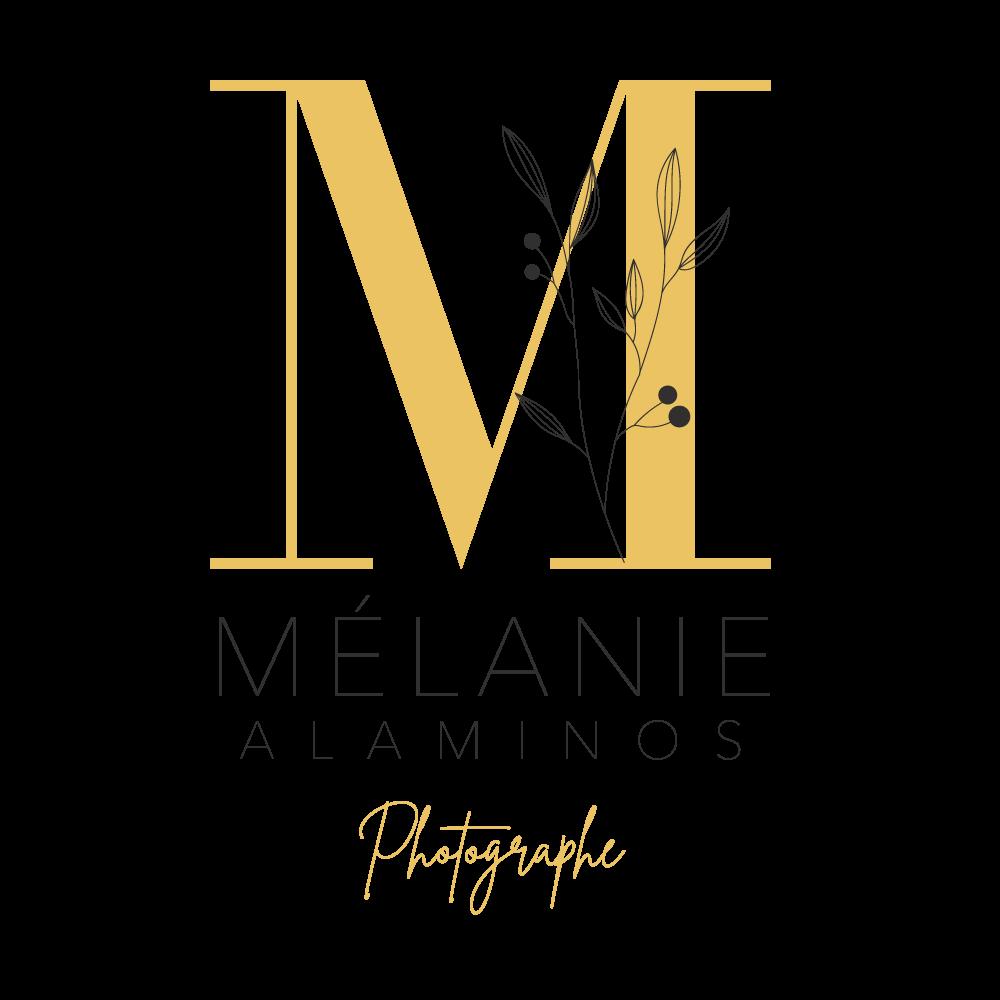 Logo Mélanie Alaminos Photographe