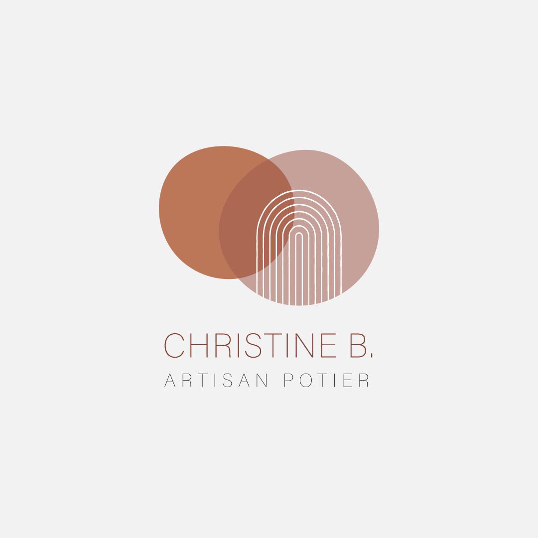 Logo Christine B artisan potier
