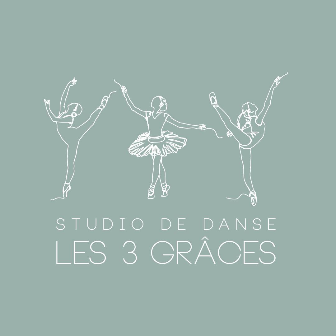Logo Les 3 Grâces Studio de Danse