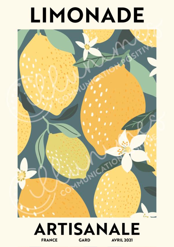Limonade artisanale filigrane - Illunimes