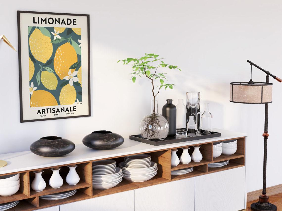 Limonade artisanale mockup - Illunimes