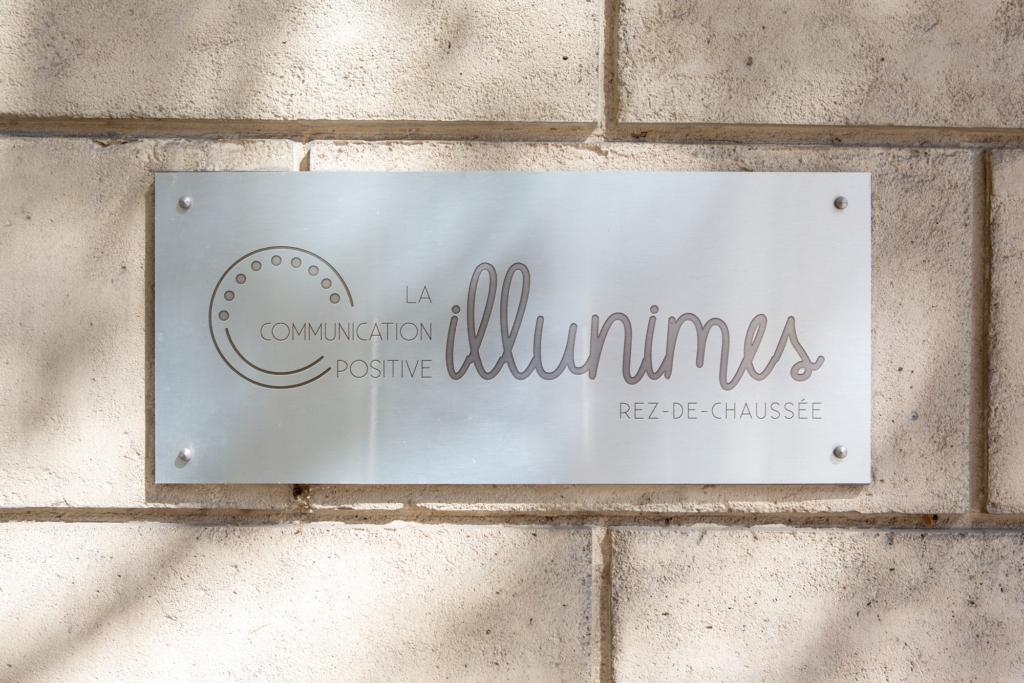 plaque gravée illunimes - Illunimes